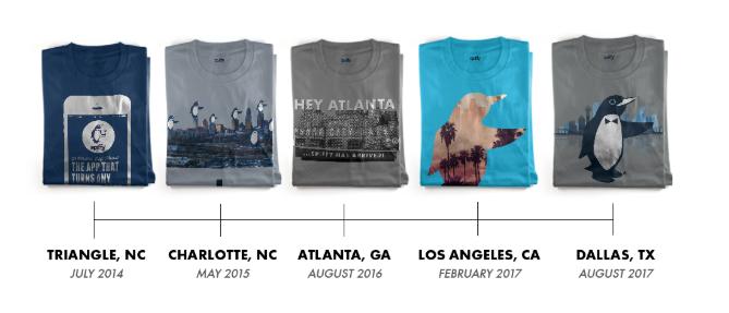T-Shirt Timeline