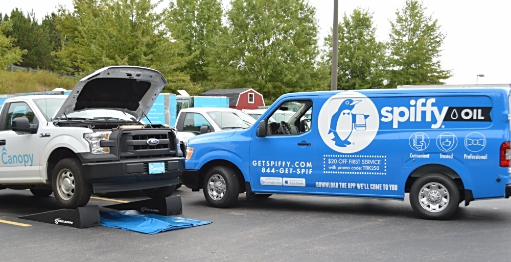 Spiffy Fleet Care services