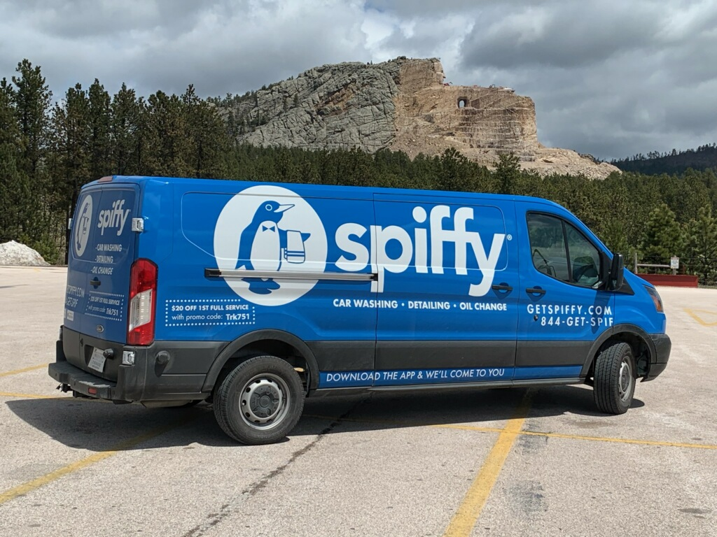 Spiffy at Black Hills National Forest