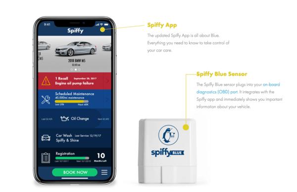 Spiffy Blue app