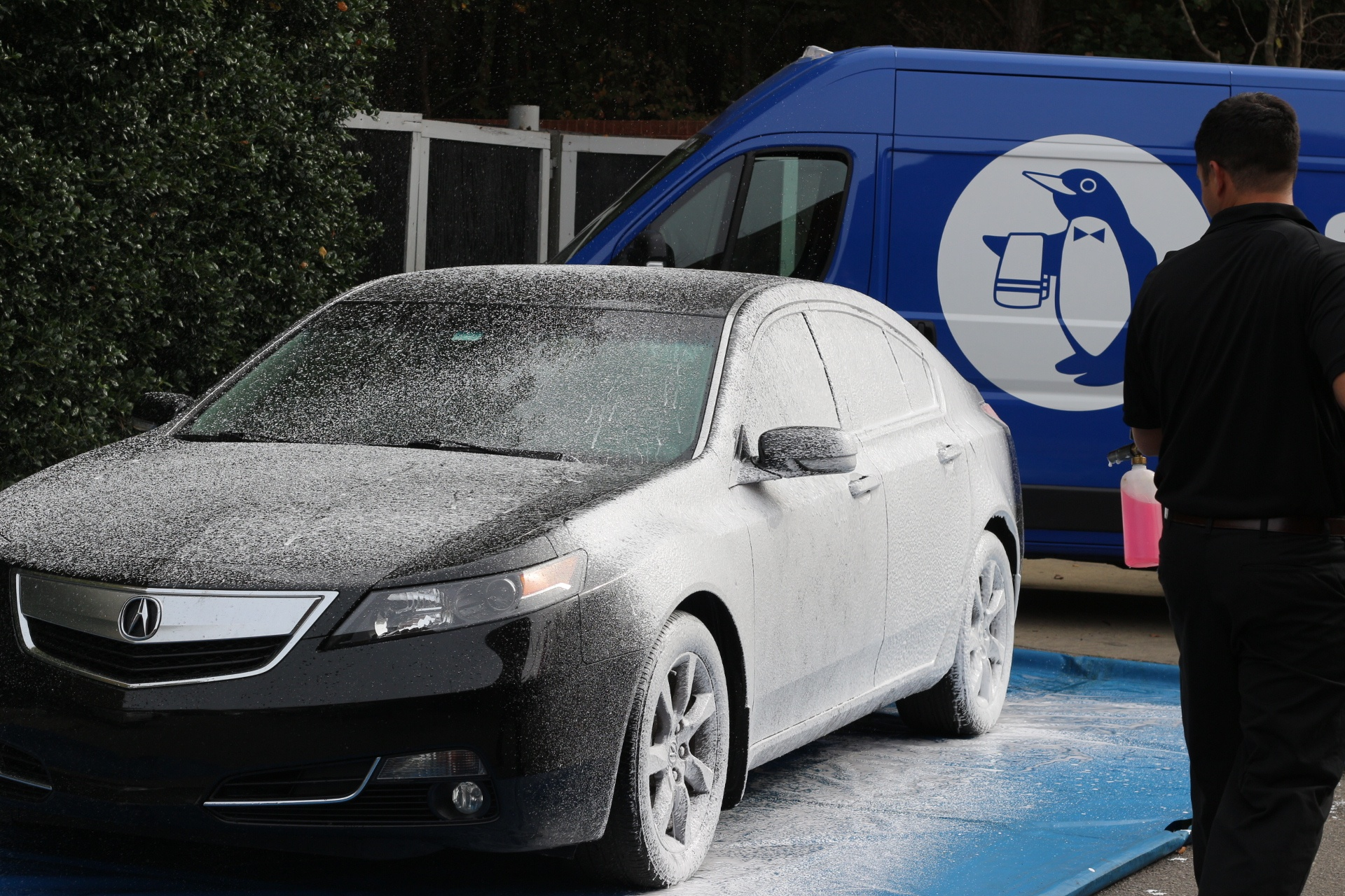 Spiffy, the on-demand mobile car wash and detailing company changing the on demand economy.