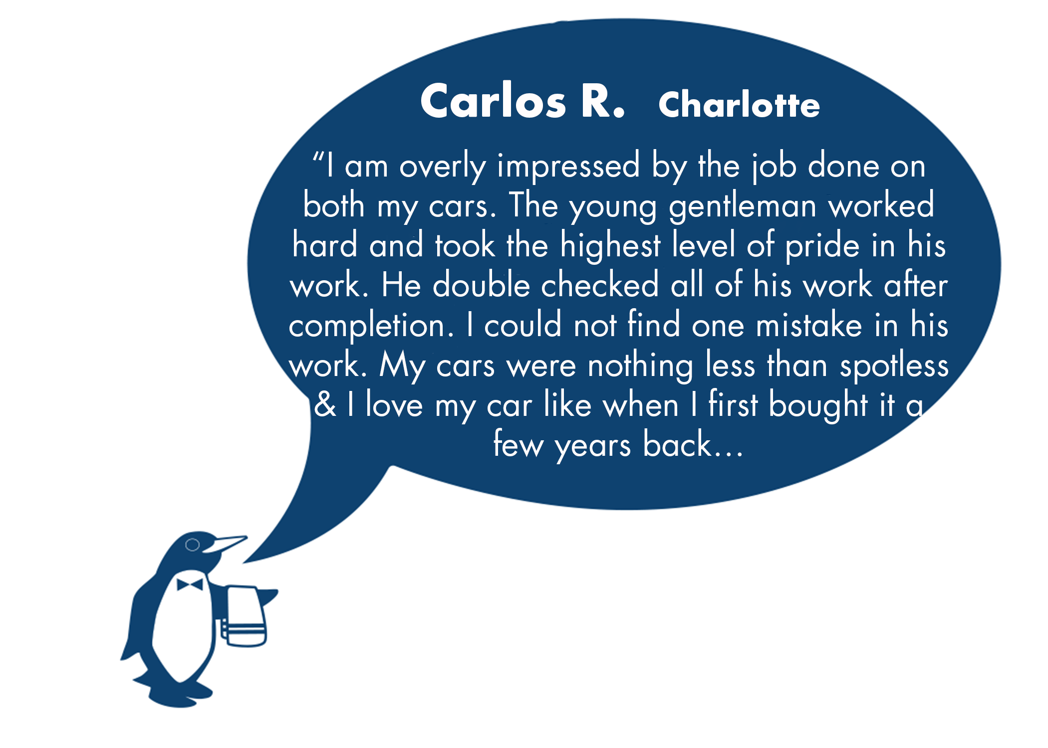 Carlos Review June Charlotte, NC