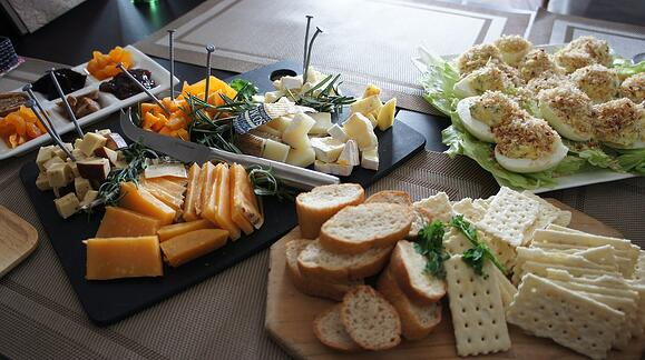 Cheese platter holiday gift