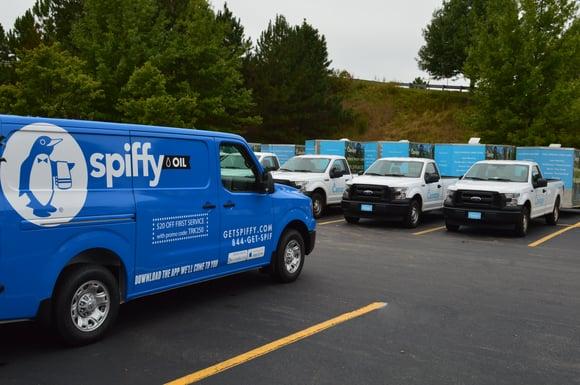 Spiffy fleet services