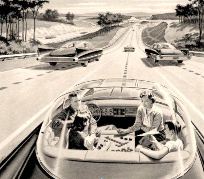 Autonomous Cars-Not too far away...Google, tesla, along with a host of others are investing in reserach and development in this technology