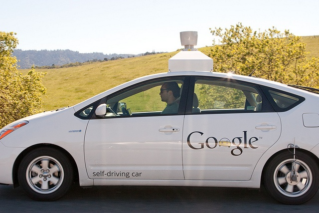 A self driving car from Google