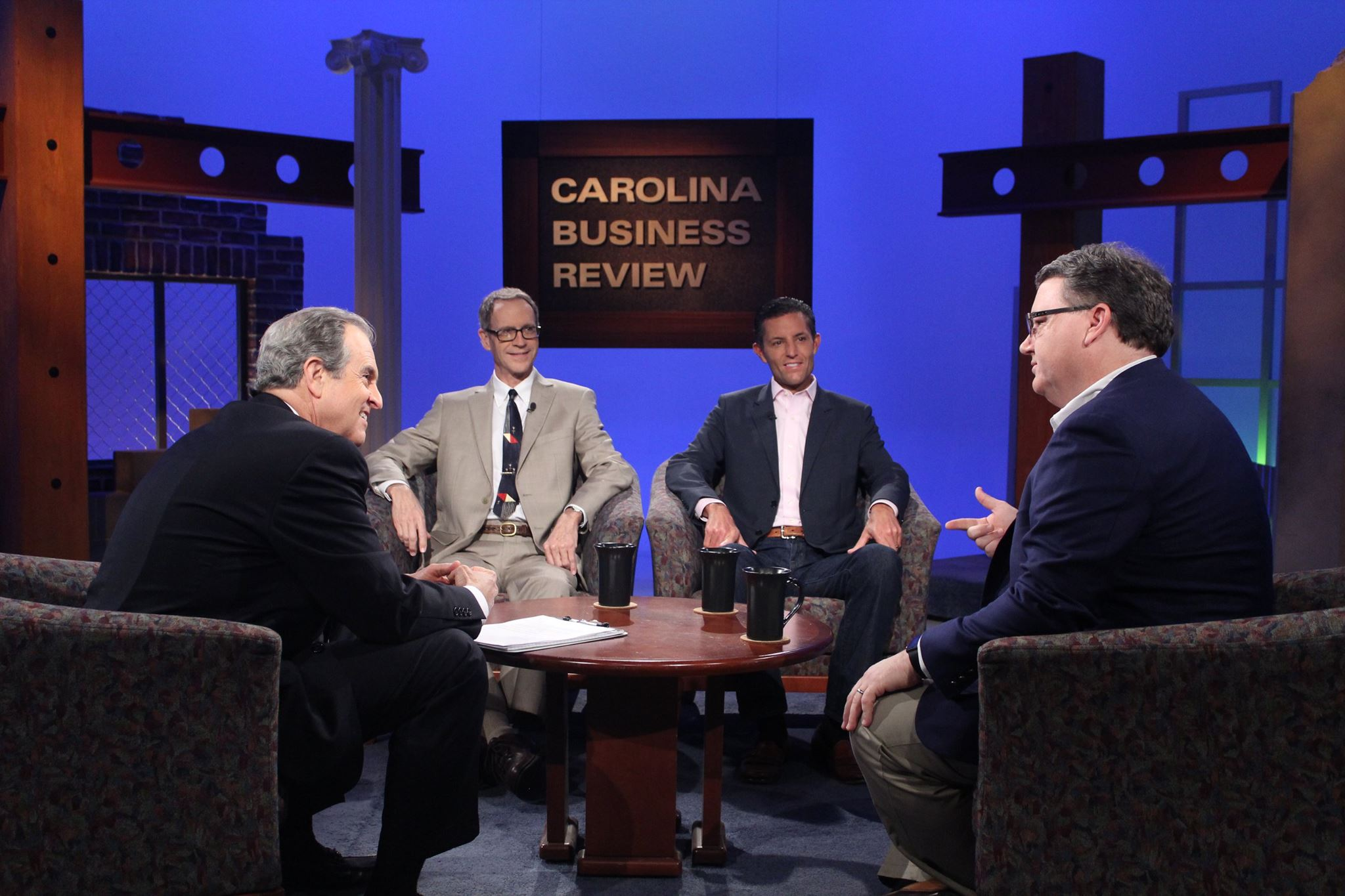 Scot  Wingo, CEO of Get Spiffy Inc talking to Chris William, host of Carolina Business Review