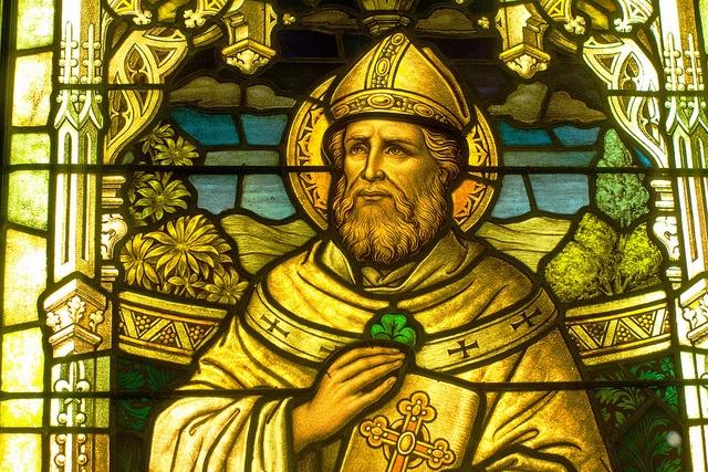 The beloved saint of St Patrick