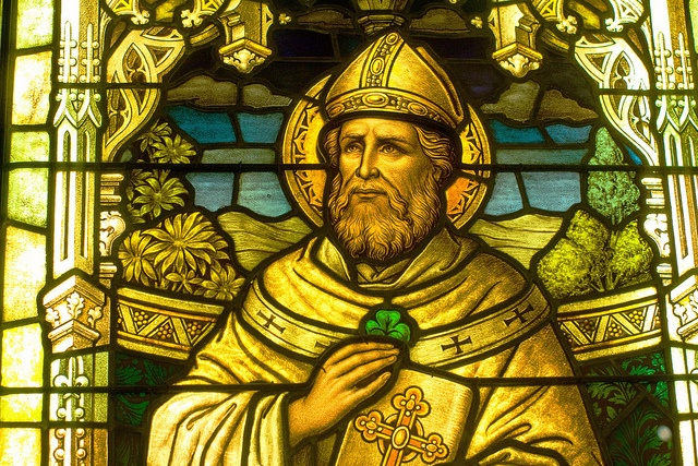 The beloved saint of St Patrick