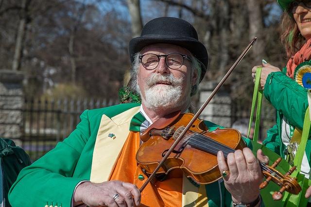 Celebration on St Patrick's Day