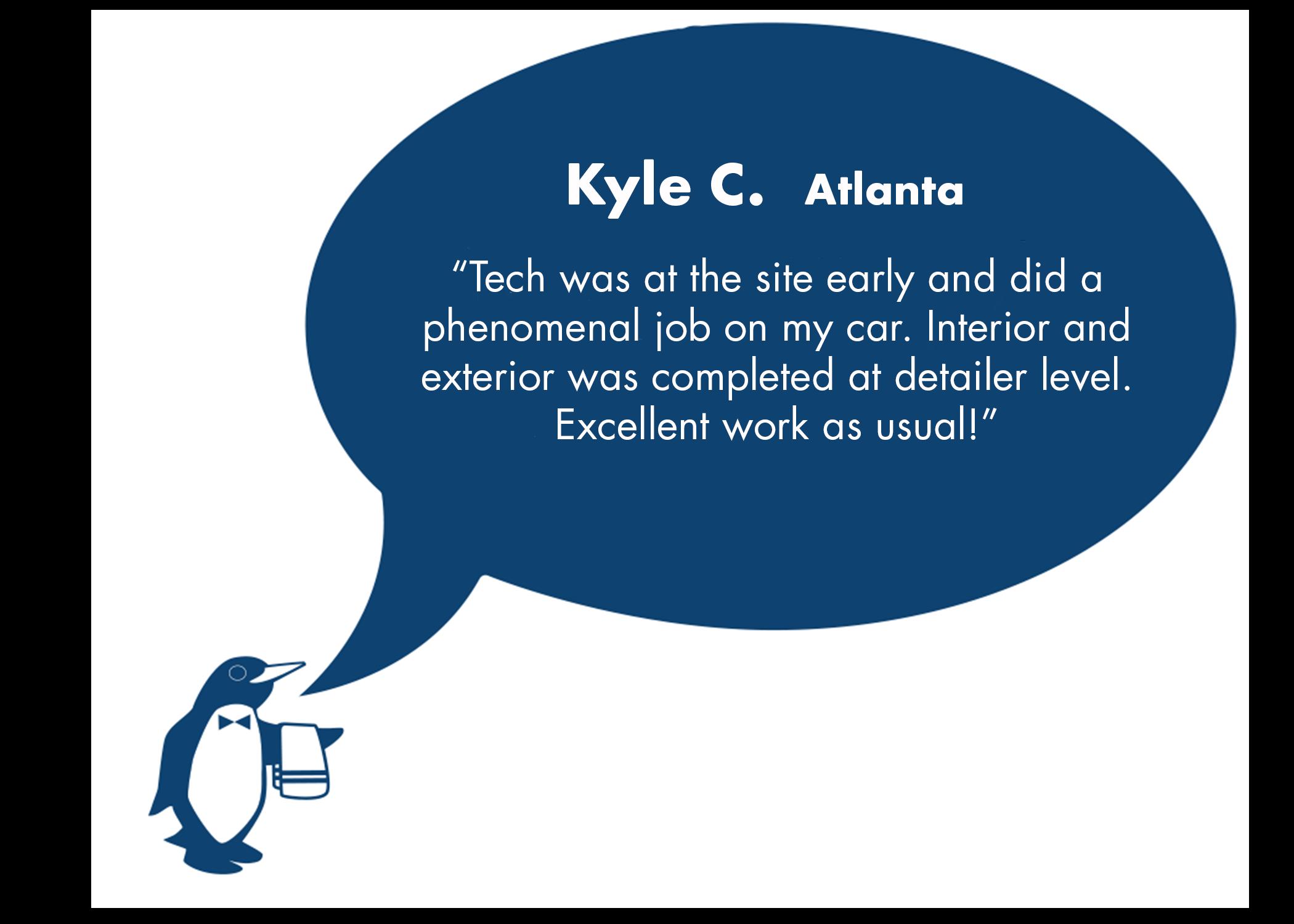 Kyle Review June Atlanta, GA