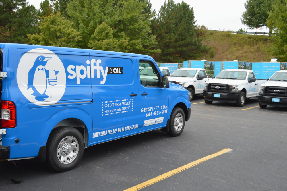 Spiffy fleet care services