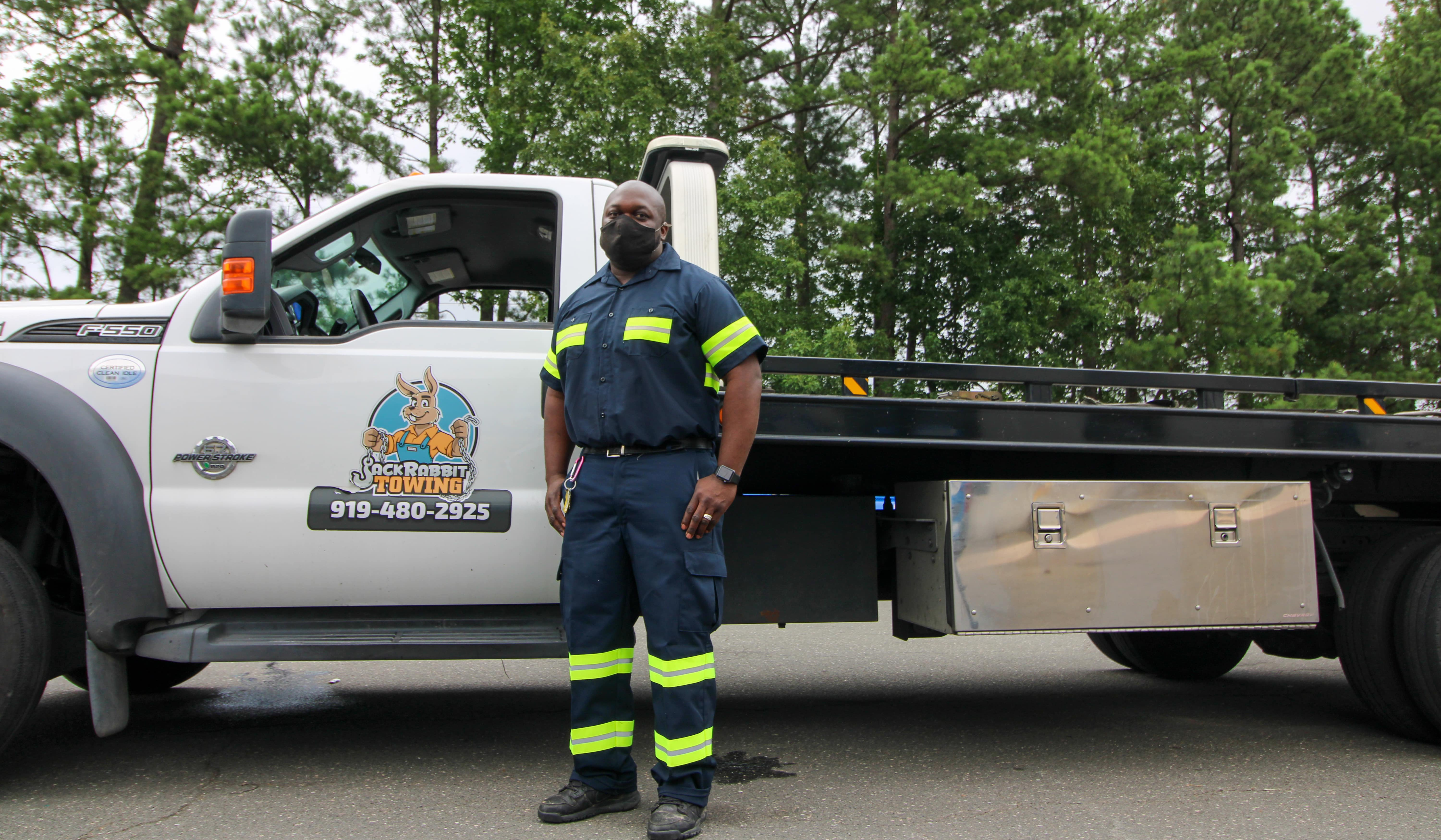 Teaming Up With Honk To Help Tow Drivers Disinfect Their Trucks