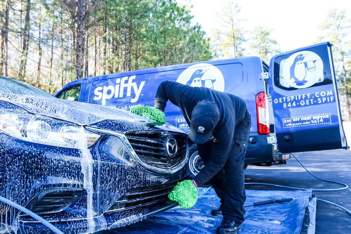 Spiffy car wash environmentally friendly